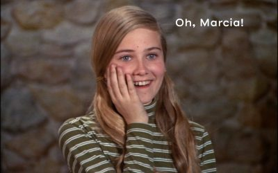 Marcia Brady and Positive Self-Talk